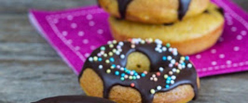 Kürbis-Doughnuts