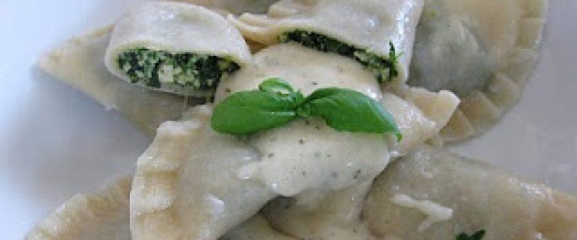 Spinat-Ravioli