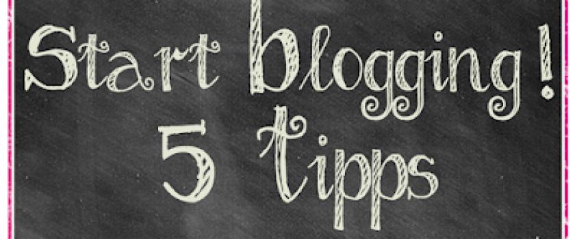 Start_Blogging